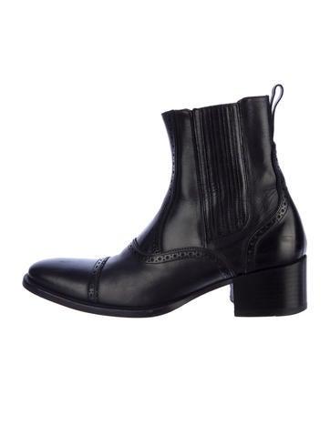 Alexander McQueen Brogue Boots