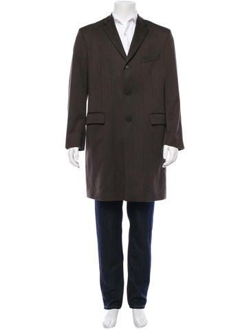 Dries Van Noten Wool Blazer Coat