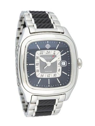 David Yurman GMT Dual Time Watch