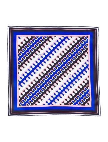 Emilio Pucci Silk Pocket Square