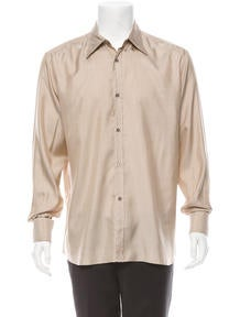 Gucci Silk Button-Up Shirt