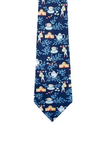 Hermès Silk Necktie