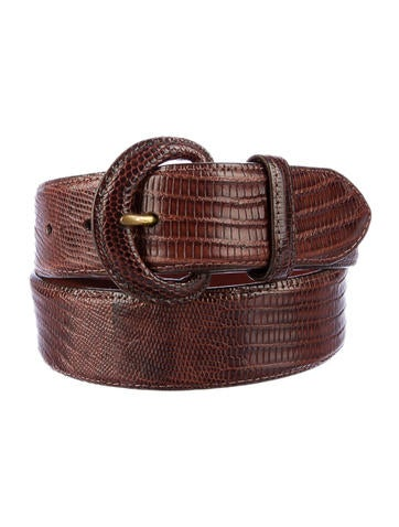 Ralph Lauren Lizard Belt