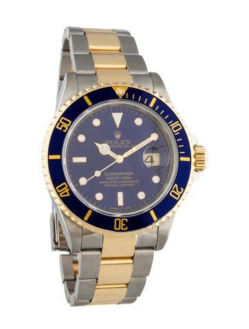 Rolex Two-Tone Submariner Watch