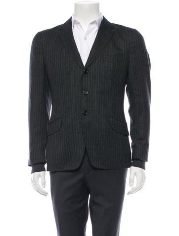 Yves Saint Laurent Woven Wool Blazer