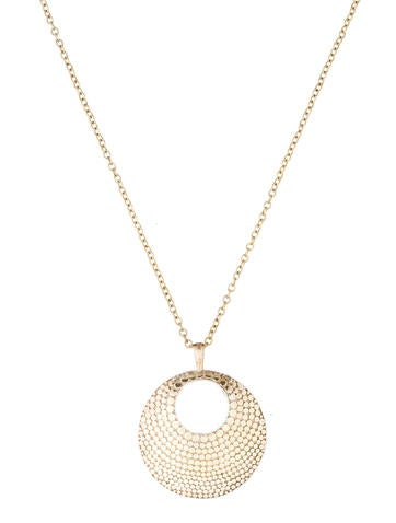 Anna Beck Dot Disc Necklace