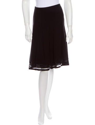 Akris Silk Skirt