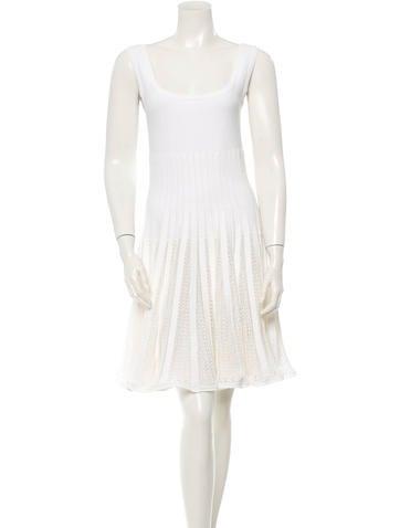 Alaïa Fit en Flare Dress