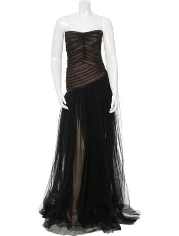 Alberta Ferretti Silk Gown