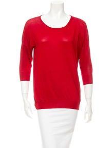 Alexander McQueen Silk Sweater