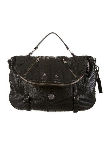 Alexander McQueen Python Faithful Bag
