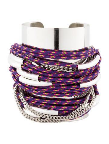 Assad Monsuer Silvered Rope Bracelet
