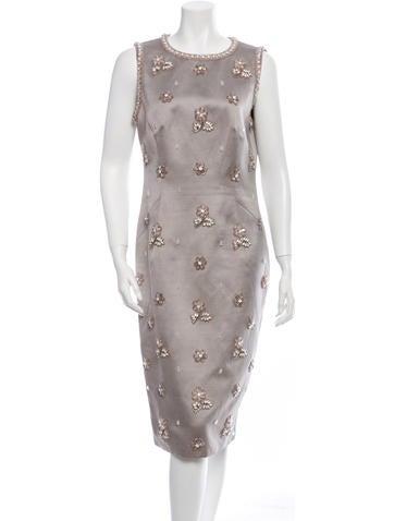 Andrew Gn Sleeveless Dress