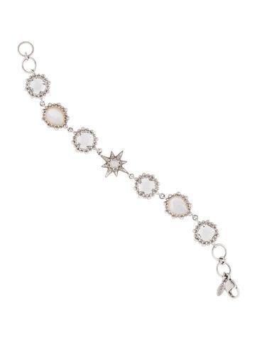 Anzie Starburst Link Bracelet