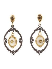 Armenta 18k Gold Diamond Earrings