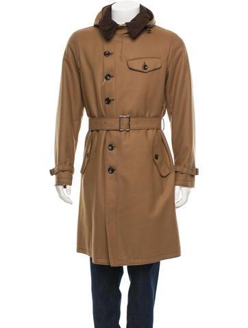 Armani Collezioni Hooded Coat