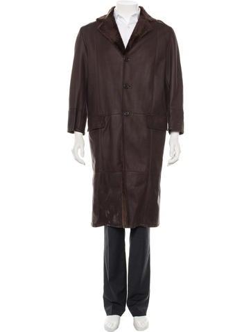 Asprey Shearling Coat