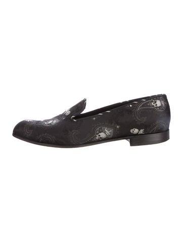 Barker Black Smoking Slippers