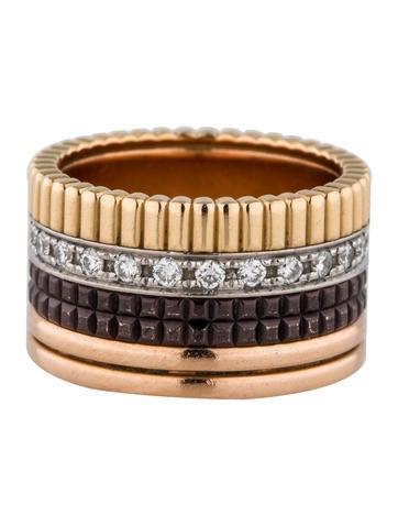 Boucheron Diamond Ring Quatre
