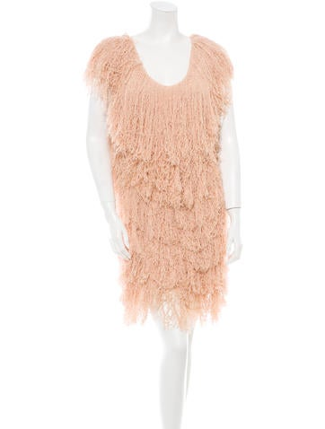 Bottega Veneta Fringe Dress
