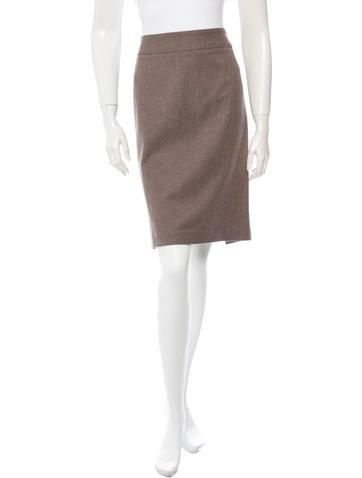 Brunello Cucinelli Wool Skirt
