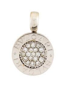 Bvlgari Diamond Pendant