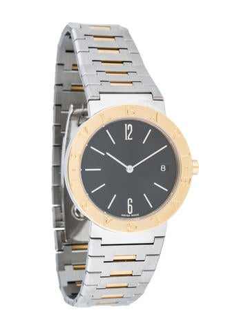 Bvlgari Two-Tone Quartz horloge