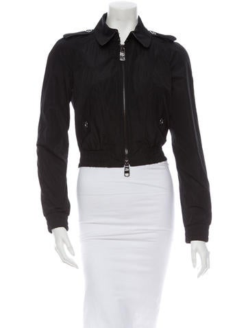 Burberry Cropped Jacket