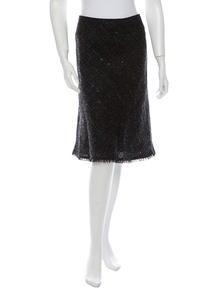 Burberry Tweed Skirt