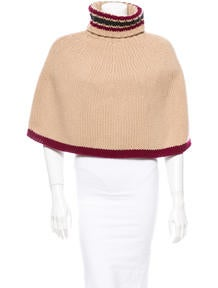 Burberry Wool Capelet