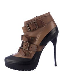Burberry Buckle Boots