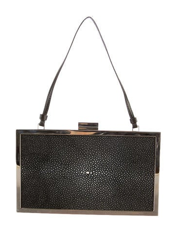 Calvin Klein Collection Stingray Clutch w/ Tags
