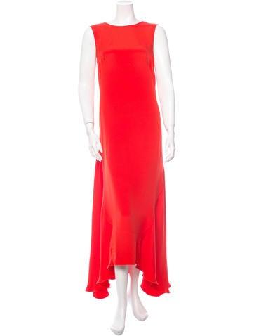 Cédric Charlier Silk Gown