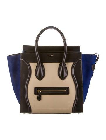 Céline Mini Luggage Tote w/ Tags
