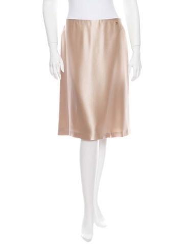 Chanel A-Line Skirt