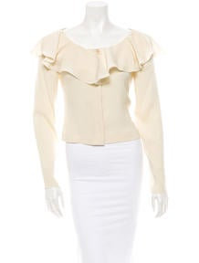 Chanel Ruffled Blouse
