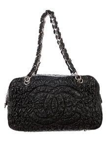 Chanel Astrakan Bowler Bag