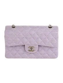 Chanel 2.55 Canvas Double Flap Bag