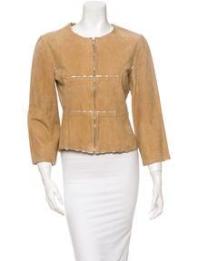 Chanel Suede Jacket