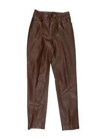 Chanel Leather Pants