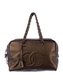 Chanel Luxe Ligne Large Bowler Bag