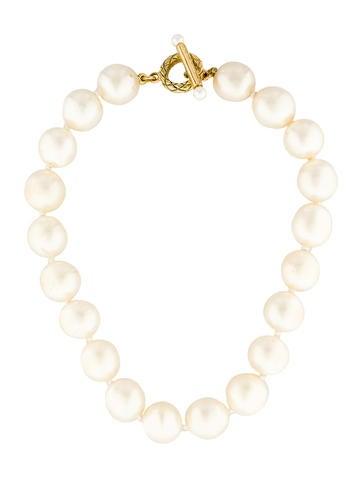 Chanel Baroque Pearl Choker
