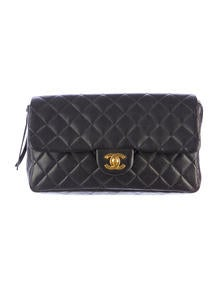 Chanel Quilted E/W Backpack