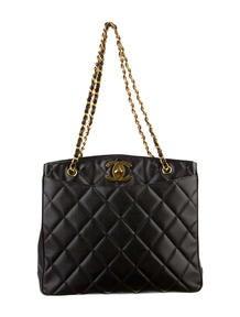 Chanel Caviar Shopping Tote