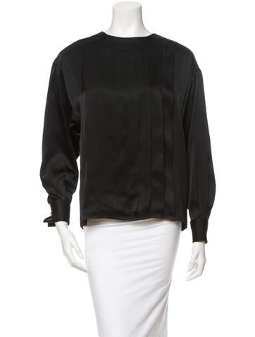 Chanel Silk Blouse