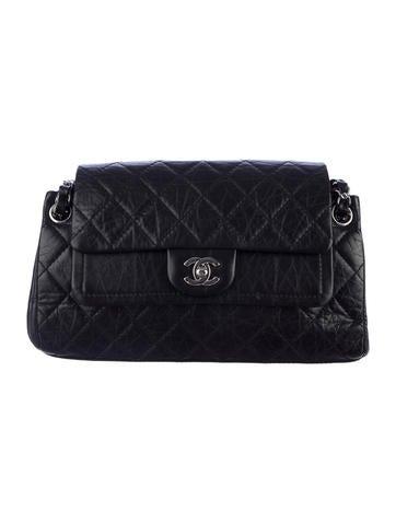 Chanel Accordion Double Flap Bag