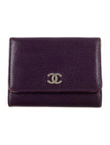 Chanel Compact Wallet