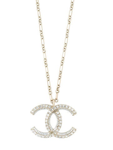 Chanel Large Crystal Necklace