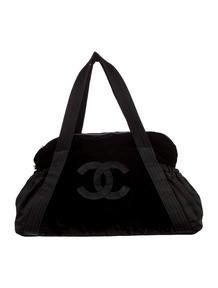 Chanel Velvet Tote