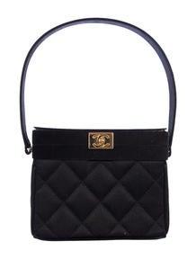 Chanel Satin Box Bag